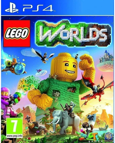 LEGO WORLDS - PS4 GAME