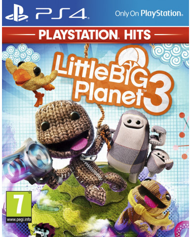 LITTLE BIG PLANET 3 PLAYSTATION HITS - PS4 GAME