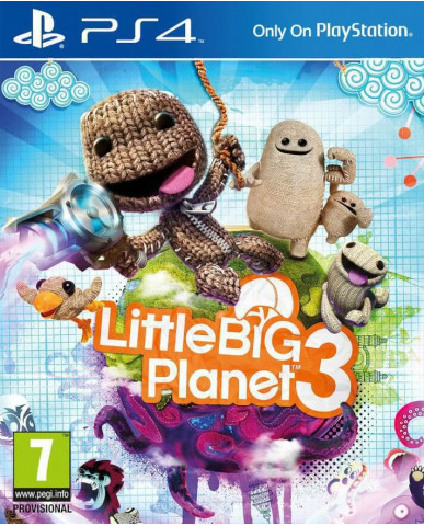 LITTLE BIG PLANET 3 - PS4 GAME