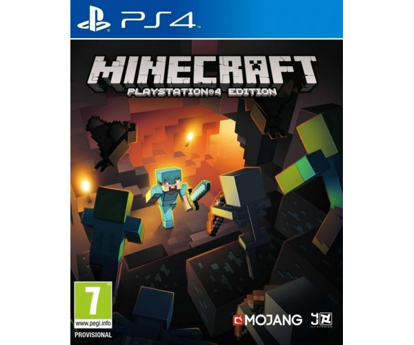 MINECRAFT PLAYSTATION 4 EDITION - PS4 GAME