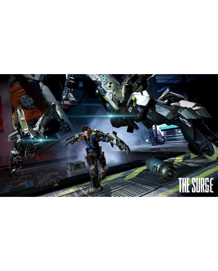THE SURGE + ΔΩΡΟ ΘΗΚΗ ΣΙΛΙΚΟΝΗΣ PS4 ΧΕΙΡΙΣΤΗΡΙΟΥ - PS4 GAME