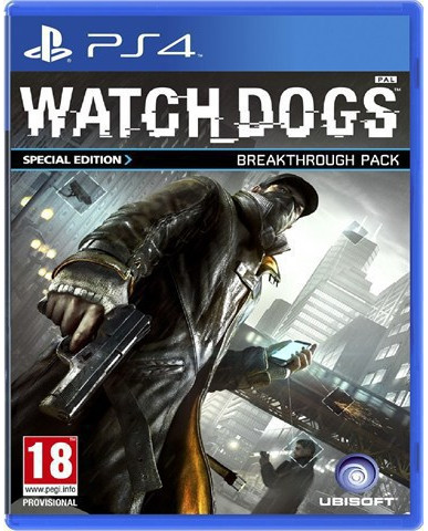 WATCH DOGS SPECIAL EDITION BREAKTHROUGH PACK ΜΕΤΑΧ. - PS4 GAME