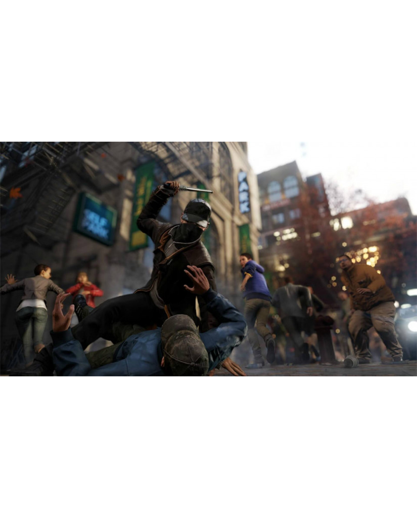 WATCH DOGS COMPLETE EDITION - PS4 GAME