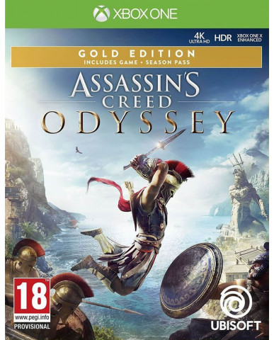 ASSASSIN'S CREED ODYSSEY GOLD EDITION – XBOX ONE NEW GAME