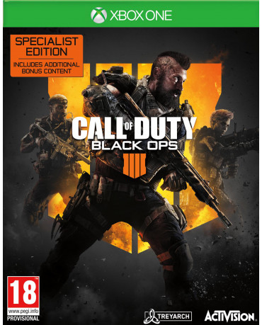 CALL OF DUTY BLACK OPS 4 SPECIALIST EDITION - XBOX ONE NEW GAME