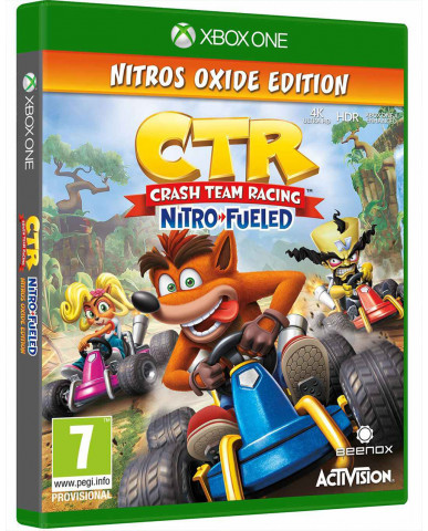 CRASH TEAM RACING NITRO-FUELED NITROS OXIDE EDITION - XBOX ONE NEW GAME
