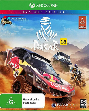 DAKAR 18 DAY ONE EDITION - XBOX ONE GAME