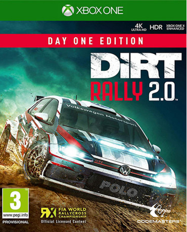 DIRT RALLY 2.0 DAY ONE EDITION - XBOX ONE GAME