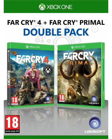 FAR CRY PRIMAL & FAR CRY 4 DOUBLE PACK - XBOX ONE GAME