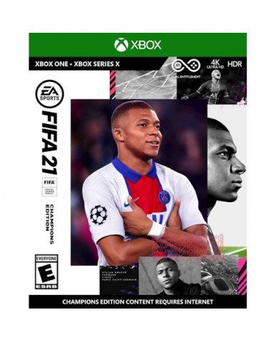 FIFA 21 CHAMPIONS EDITION + ΔΩΡΟ ΑΓΑΛΜΑΤΑΚΙ LIONEL MESSI - XBOX ONE NEW GAME