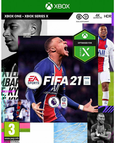 FIFA 21 + ΔΩΡΟ ΑΓΑΛΜΑΤΑΚΙ LIONEL MESSI - XBOX ONE NEW GAME