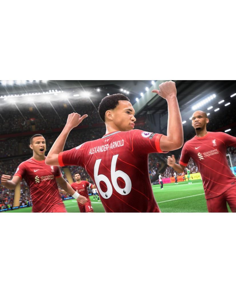 FIFA 22 + ΑΓΑΛΜΑΤΑΚΙ LIONEL MESSI + DLC BONUS - XBOX ONE / SERIES X GAME