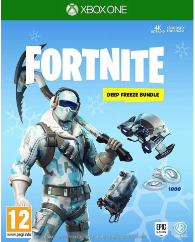 FORTNITE DEEP FREEZE BUNDLE - XBOX ONE NEW GAME