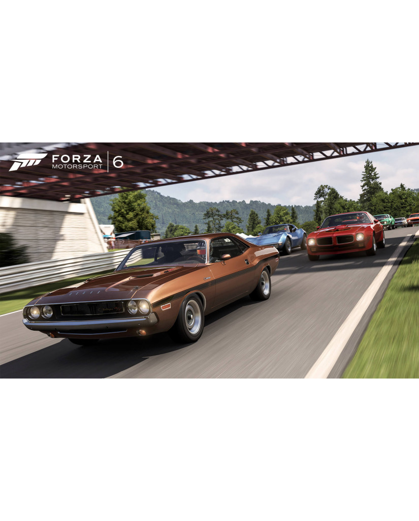 FORZA MOTORSPORT 6 - TEN YEAR ANNIVERSARY EDITION - XBOX ONE GAME