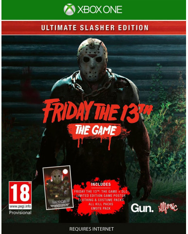 FRIDAY THE 13TH: THE GAME ULTIMATE SLASHER EDITION - XBOX ONE GAME