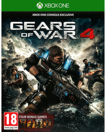GEARS OF WAR 4 + GEARS OF WAR COLLECTION ΜΕΤΑΧ. – XBOX ONE GAME