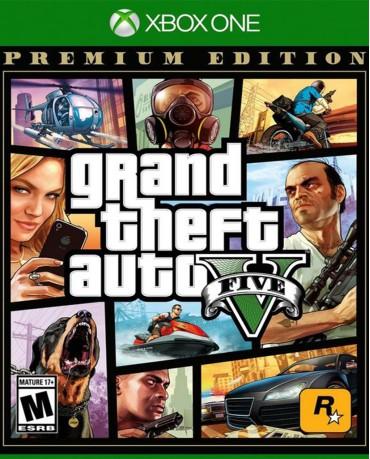 GRAND THEFT AUTO V (GTA V) PREMIUM EDITION - XBOX ONE NEW GAME