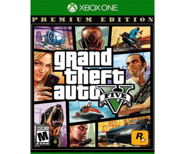 GRAND THEFT AUTO V (GTA V) PREMIUM EDITION - XBOX ONE NEW GAME