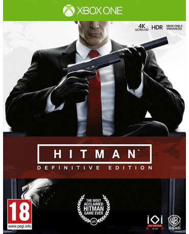 HITMAN DEFINITIVE EDITION - XBOX ONE GAME