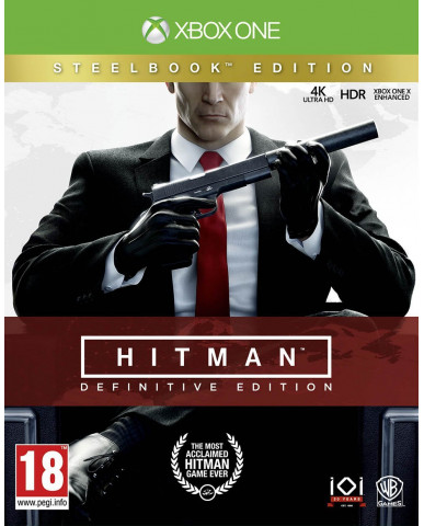 HITMAN DEFINITIVE STEELBOOK EDITION - XBOX ONE GAME