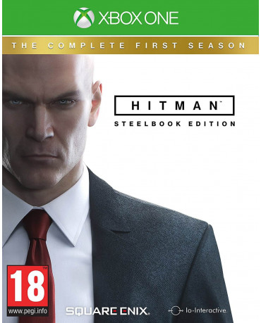 HITMAN: THE COMPLETE FIRST SEASON STEELBOOK EDITION + INCLUDES BONUS MISSIONS - XBOX ONE GAME