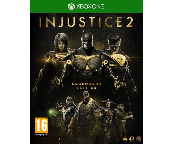 INJUSTICE 2 LEGENDARY STEELBOOK EDITION – XBOX ONE GAME