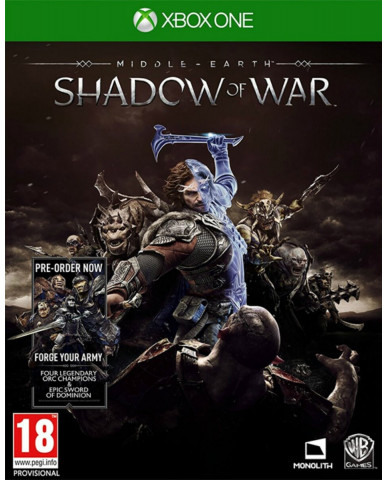 MIDDLE EARTH: SHADOW OF WAR ΠΕΡΙΛΑΜΒΑΝΕΙ PRE-ORDER BONUS FORGE YOUR ARMY DLC - XBOX ONE GAME