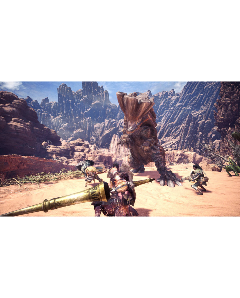 MONSTER HUNTER WORLD + ΔΩΡΟ ΜΠΡΕΛΟΚ - XBOX ONE GAME