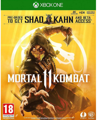 MORTAL KOMBAT 11 + SHAO KAHN PRE-ORDER BONUS – XBOX ONE NEW GAME