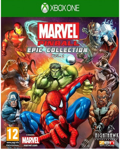 MARVEL PINBALL GREATEST HITS VOL.1 - XBOX ONE GAME