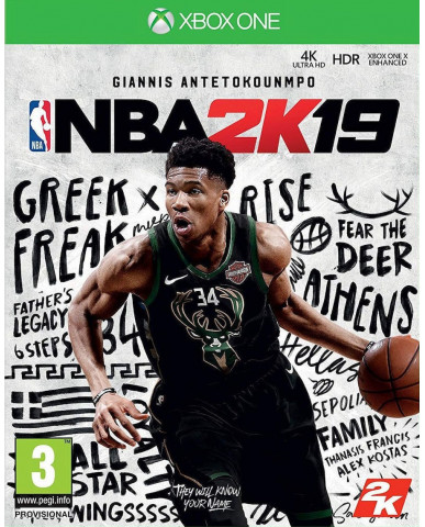 NBA 2K19 – XBOX ONE NEW GAME