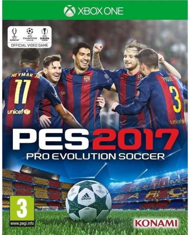 PRO EVOLUTION SOCCER 2017 - XBOX ONE GAME