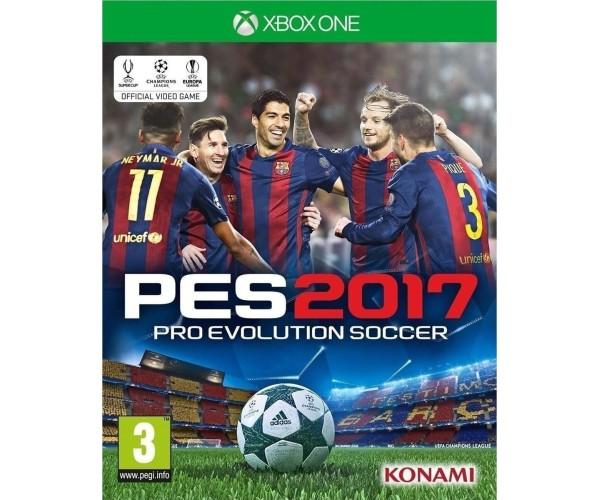 PRO EVOLUTION SOCCER 2017 - XBOX ONE GAME