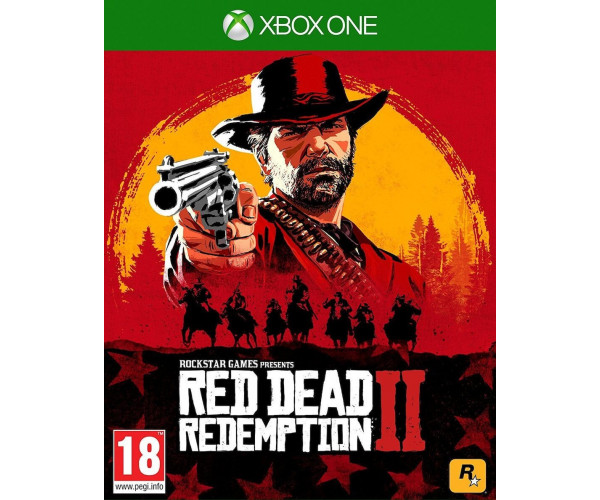 RED DEAD REDEMPTION 2 - XBOX ONE NEW GAME