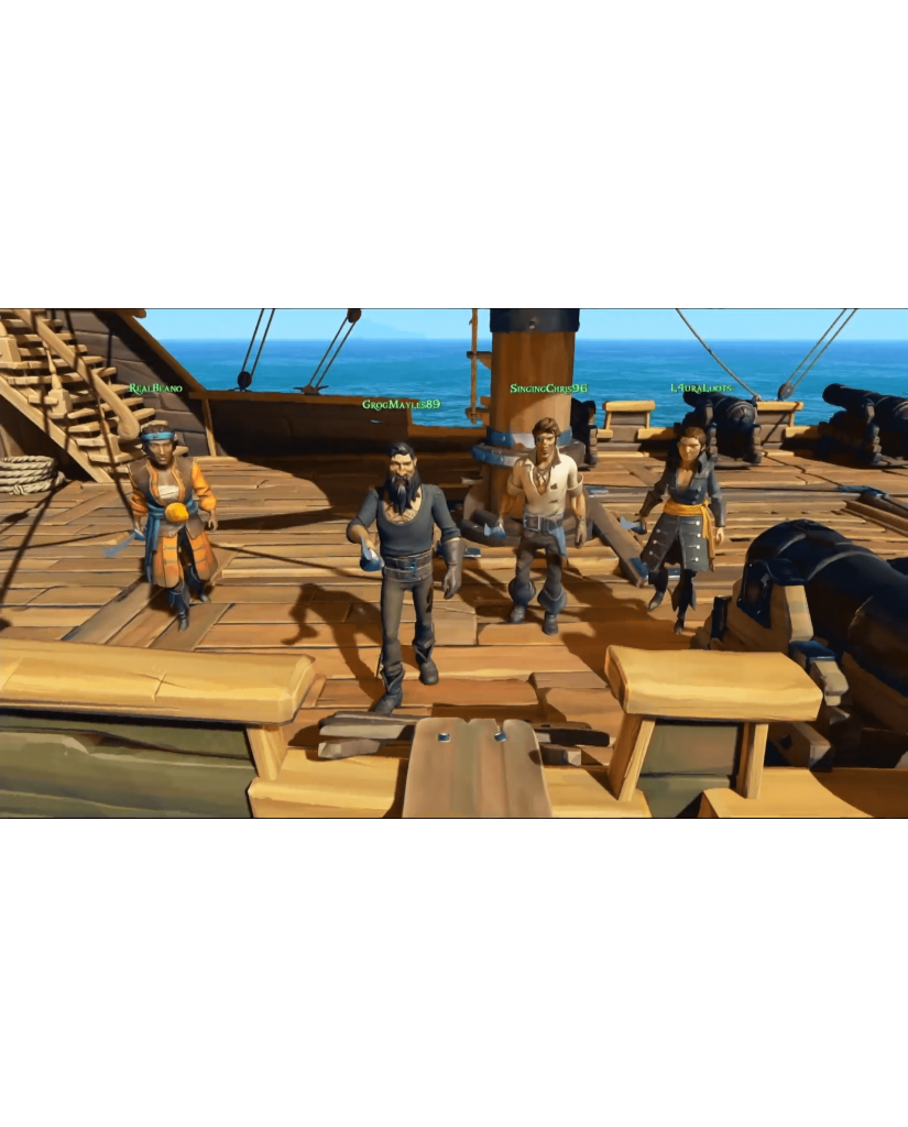 SEA OF THIEVES INCLUDES BLACK DOG PACK BONUS - XBOX ONE NEW GAME