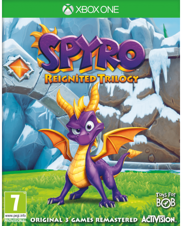 SPYRO REIGNITED TRILOGY - XBOX ONE GAME