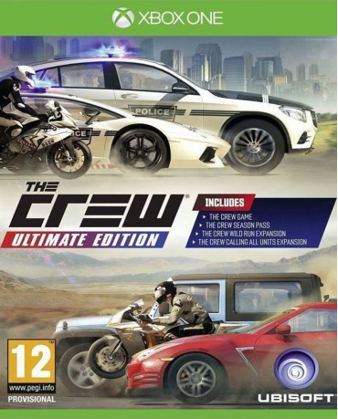 THE CREW ULTIMATE EDITION – XBOX ONE GAME