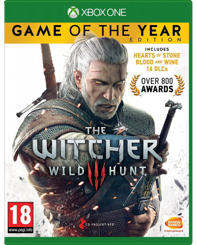 THE WITCHER 3 WILD HUNT GAME OF THE YEAR EDITION - XBOX ONE GAME