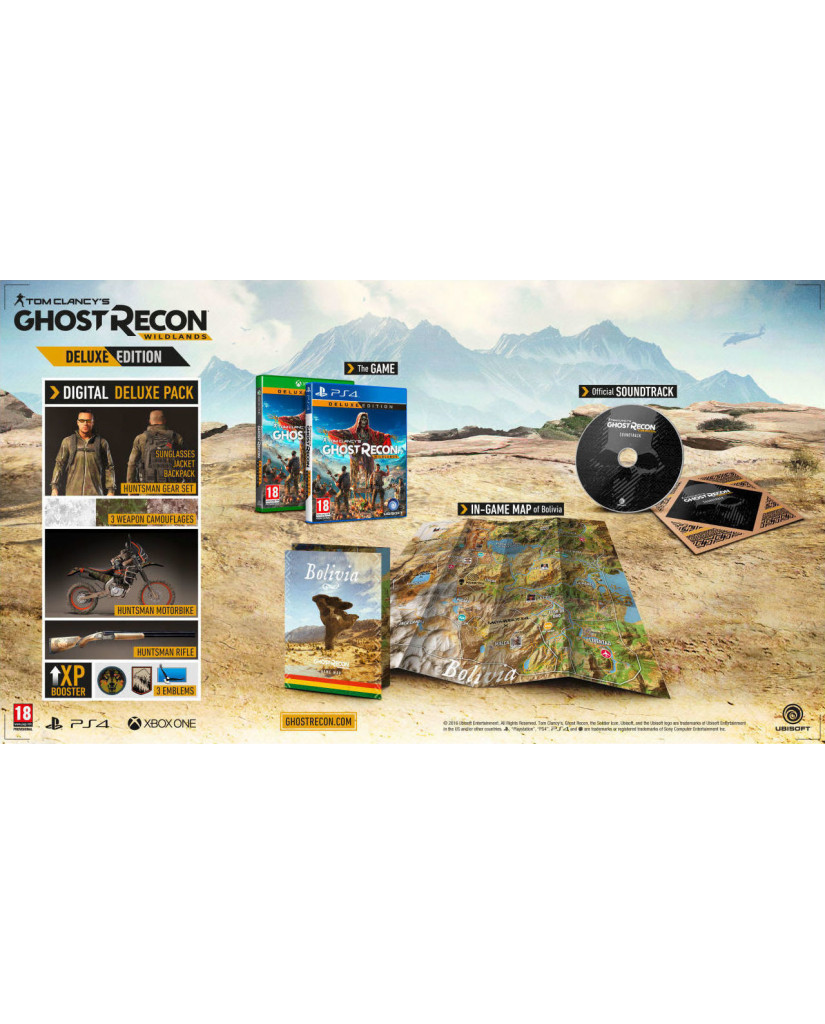 TOM CLANCY'S GHOST RECON WILDLANDS DELUXE EDITION - XBOX ONE GAME