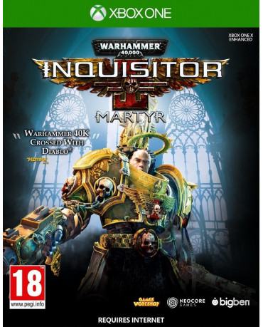 WARHAMMER 40000 INQUISITOR MARTYR – XBOX ONE GAME
