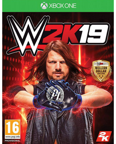 WWE 2K19 & BONUS REY MYSTERIO & RONDA ROUSEY PACK - XBOX ONE NEW GAME
