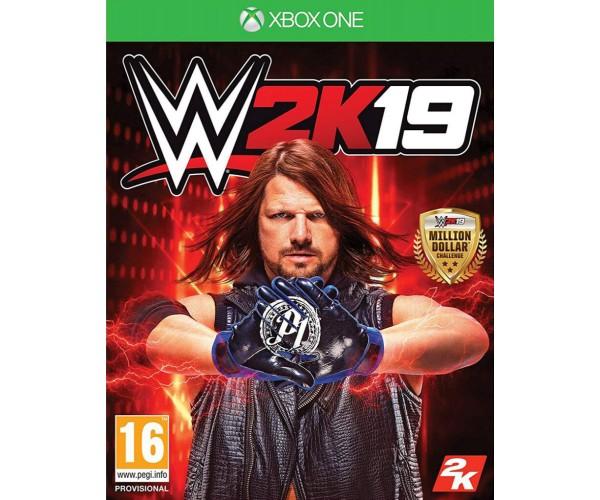 WWE 2K19 & BONUS REY MYSTERIO & RONDA ROUSEY PACK - XBOX ONE NEW GAME