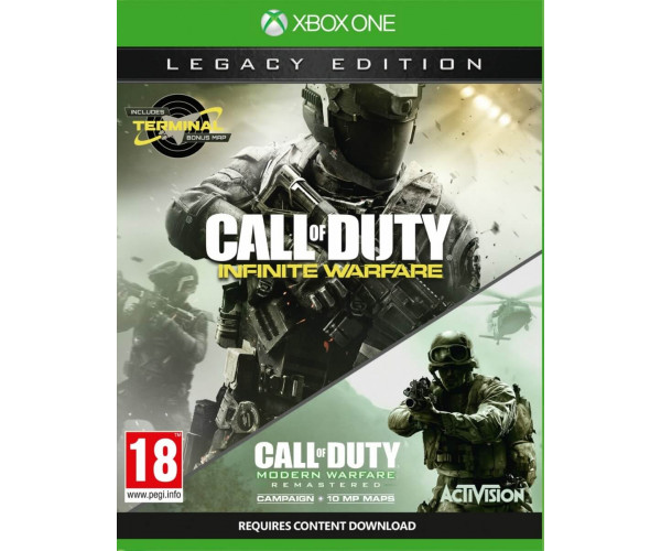 CALL OF DUTY INFINITE WARFARE LEGACY EDITION - XBOX ONE GAME