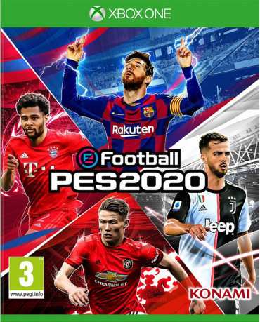 eFootball Pro Evolution Soccer 2020 (PES 2020) ΕΛΛΗΝΙΚΟ - XBOX ONE NEW GAME