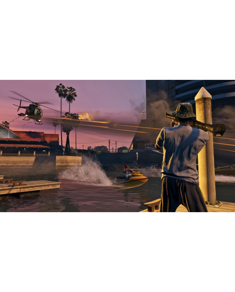 GRAND THEFT AUTO V (GTA V) - PS3 NEW GAME
