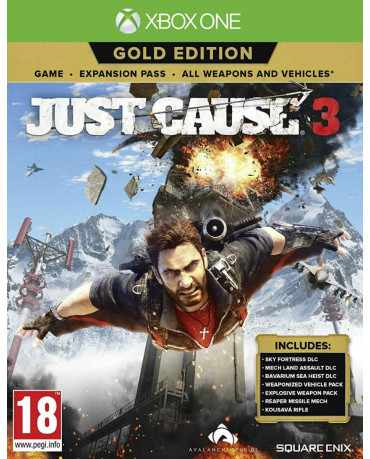 JUST CAUSE 3 GOLD EDITION - XBOX ONE GAME