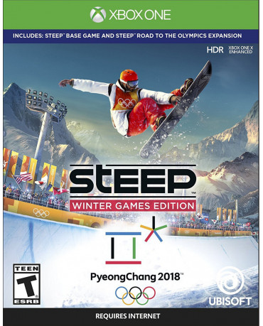 STEEP WINTER GAMES EDITION (INCLUDES ROAD TO THE OLYMPICS) - XBOX ONE GAME