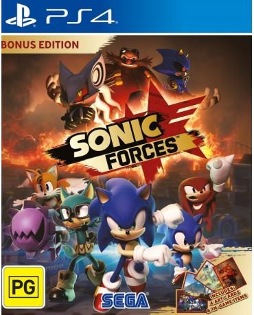 SONIC FORCES BONUS EDITION + ΔΩΡΟ 4 ART CARDS - PS4 GAME