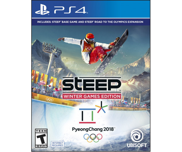 STEEP WINTER GAMES EDITION ΠΕΡΙΕΧΕΙ ROAD TO THE OLYMPICS - PS4 GAME