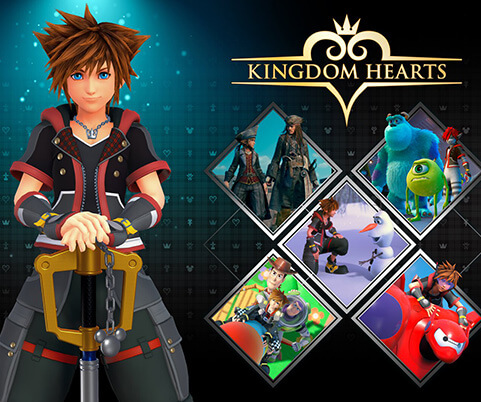 KINGDOM HEARTS 3 PS4 GAMES